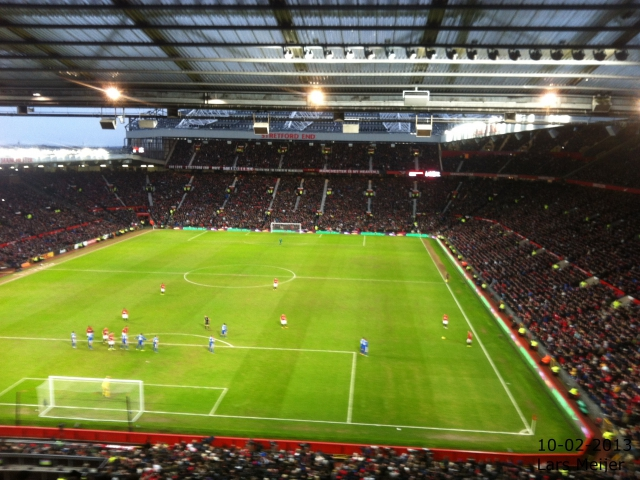 Manchester United 2–0 Everton FC